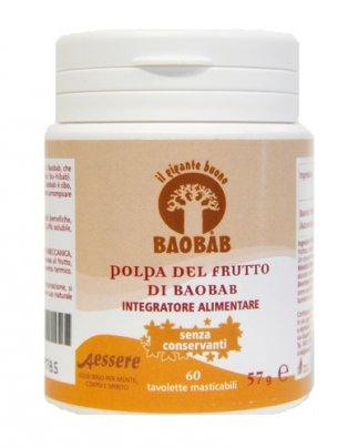 Polpa del Frutto del Baobab Bio - Tavolette Masticabili