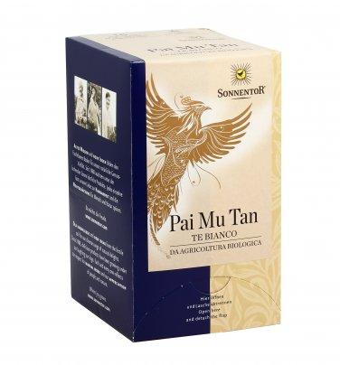 Tè Bianco Bio Pai Mu Tan Bustine (18 bustine - 18 gr.)