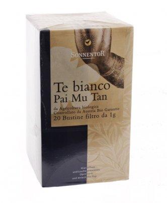 Tè Bianco Pai Mu Tan - 20 Bustine
