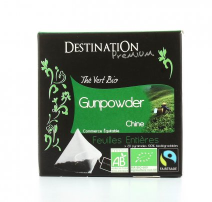 Tè Verde Bio Gunpowder Chine
