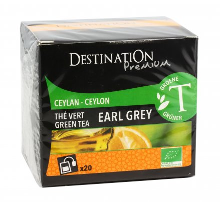 Tè Verde Ceylon Earl Grey