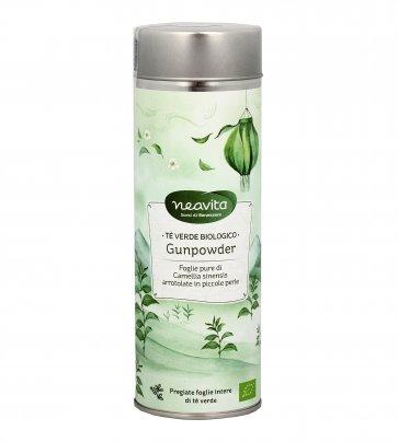 """Tè Verde Biologico """"Gunpowder"""" - Confezione Latta"""