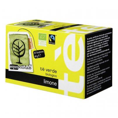 Tè Verde Bio al Limone