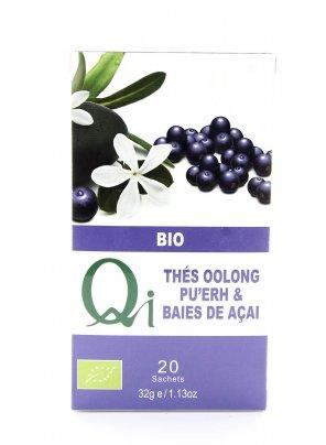 Tea Oolong Pu' Erh con Bacche di Acai