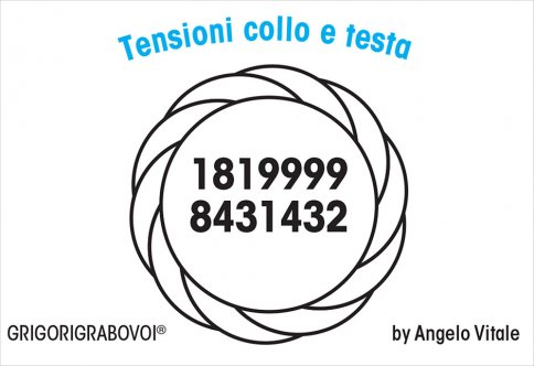 Tessera Radionica - Tensioni Collo e Testa
