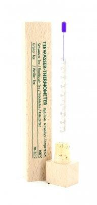 Termometro - Tè in Contenitore Legno