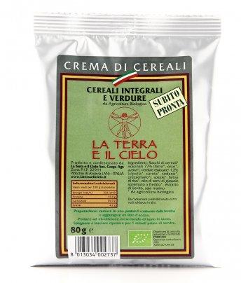 Crema di Cereali - Integrali e Verdure Bio