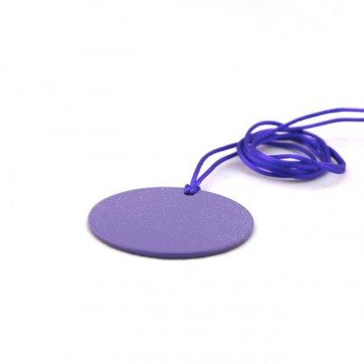 Piastra di Tesla Purpurea Sunny - Tonda a Disco 4,5 cm