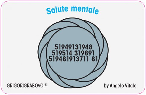 Tessera Radionica 11 - Salute Mentale