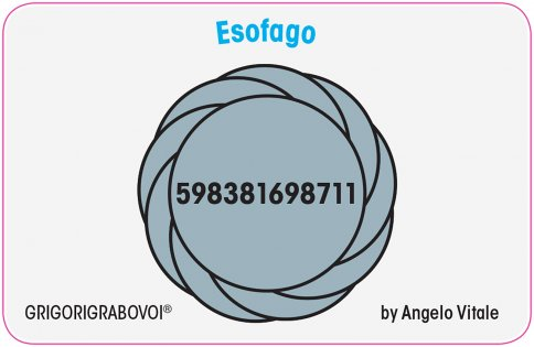 Tessera Radionica 25 - Esofago