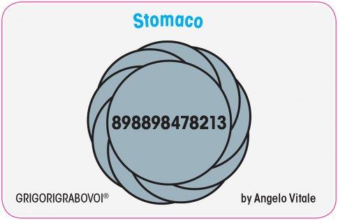 Tessera Radionica 26 - Stomaco