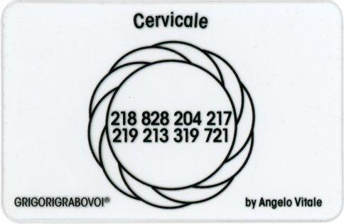 Tessera Radionica 31 - Cervicale
