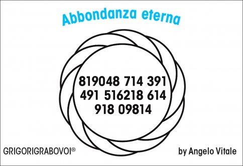 Tessera Radionica 05 - Abbondanza Eterna