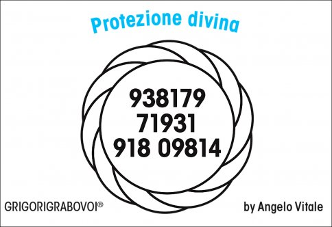 Tessera Radionica 06 - Protezione Divina