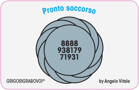 Tessera Radionica 06 - Pronto Soccorso