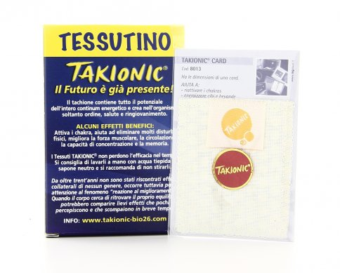 Tessuto Takionic - 62,5 mm x 62,5 mm
