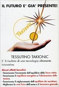 Tessuto Takionic 12,5x6,5 cm. con Garze