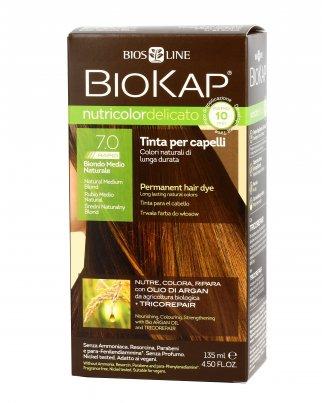 BioKap® Nutricolor Delicato Rapid 7.0- Biondo Medio Naturale