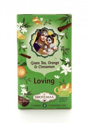 Tisana Loving - Tè Verde Bancha, Cannella, Bergamotto