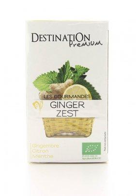 Tisana Zenzero, Limone e Menta Bio - Ginger Zest