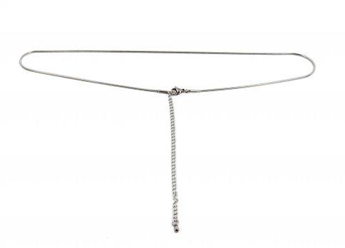 Collana in Acciaio - Topo Diamantata