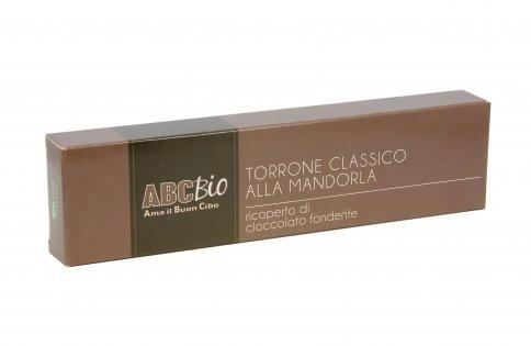 Torrone Classico Mandorla e Cioccolato Fondente