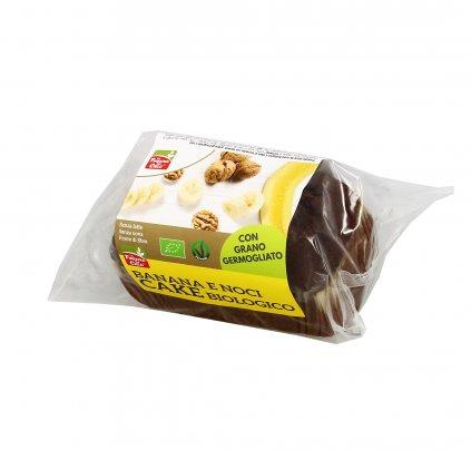 Torta di Banana e Noci - Cake Bio
