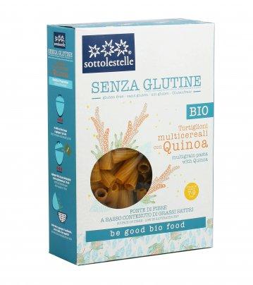 Tortiglioni Multicereali con Quinoa - Senza Glutine
