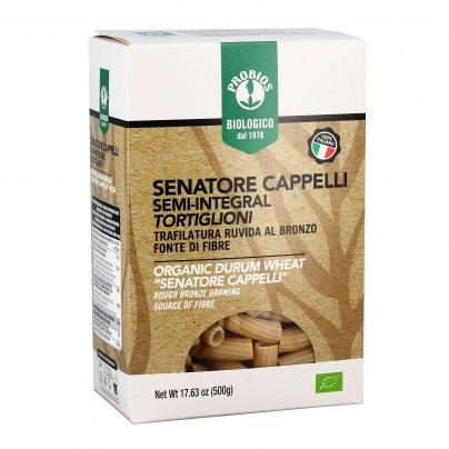 Tortiglioni Pasta Senatore Cappelli Semi-Integrale