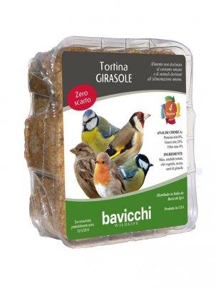 Tortina Girasole per Uccelli