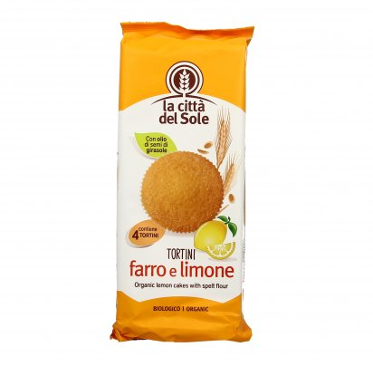 Tortini di Farro al Limone Bio