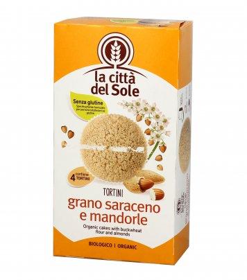 Tortini di Grano Saraceno e Mandorle Bio - Senza Glutine