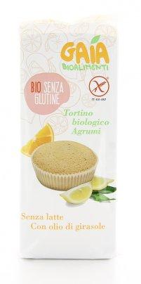 Tortino Biologico Agrumi Senza Glutine