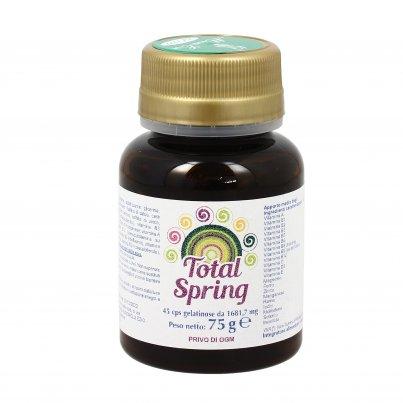 Total Spring - Integratore Vitamine e Minerali per Cambi di Stagione