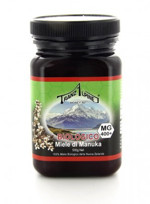 Miele di Manuka Mg 400+ 500 Gr