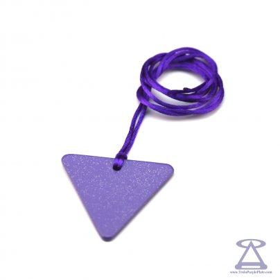 Piastra di Tesla Purpurea - Triangolo Donna