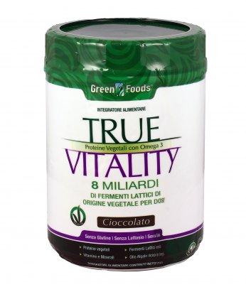Proteine Vegetali True Vitality Cioccolato