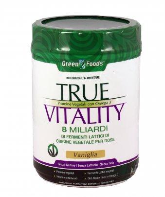 Proteine Vegetali True Vitality Vaniglia
