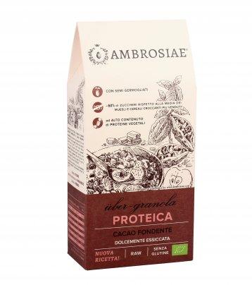 Granola Proteica con Cacao Fondente