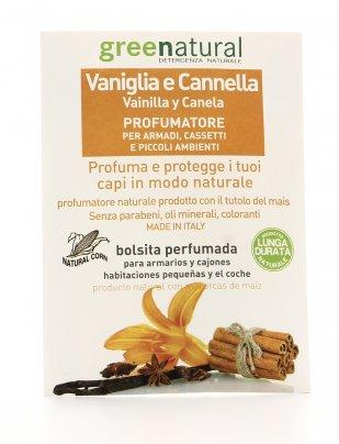 Vaniglia e Cannella - Profumatore per Armadi, Cassetti e Piccoli Ambienti