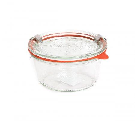 Vasetto In Vetro - Weck Dritto 290 ml con Coperchio 100 mm
