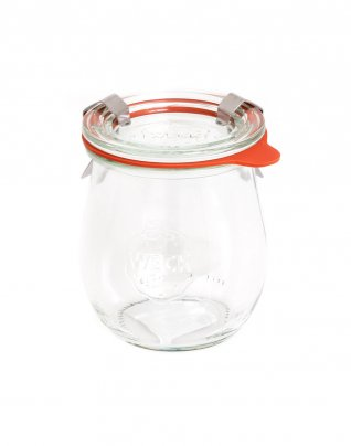 Vasetto In Vetro - Weck Tulipano 220 ml con Coperchio 60 mm