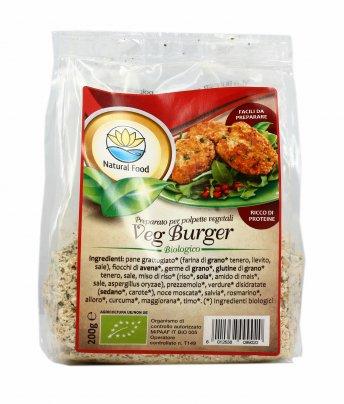 Veg Burger - Preparato Bio per Polpette Vegetali