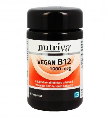Vegan B12 1000 mcg - Vitamina B12 in Compresse