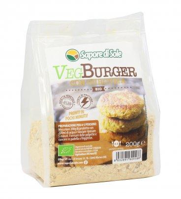 Veg Burger con Curcuma