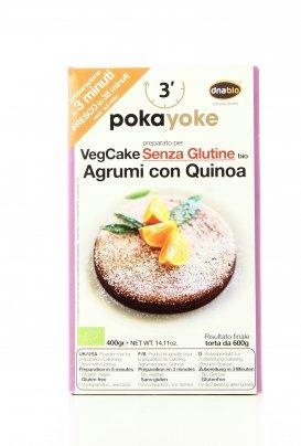 VegCake Bio Agrumi con Quinoa - Senza Glutine