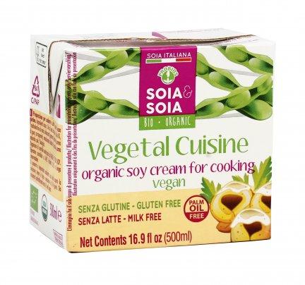 Panna di Soia Biologica - Vegetal Cuisine 500 ml