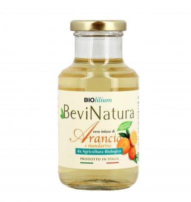 Infuso Freddo di Arancio e Mandarino Bio 250 ml (vetro)