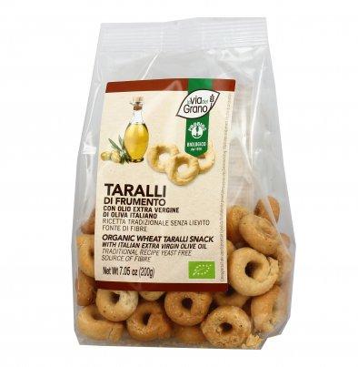 Taralli Frumento con Olio Extravergine di Oliva - La Via del Grano