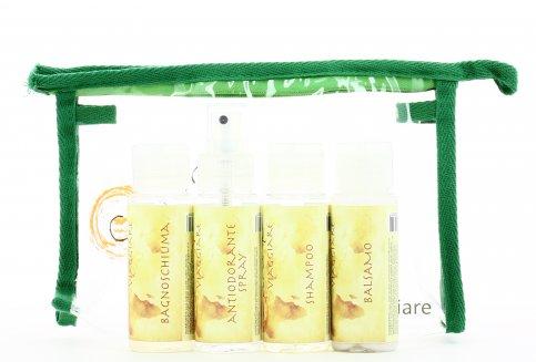 Kit da Viaggio con Detergenti e Deodorante Corpo